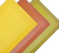 Barevné prostírání na stůl, žlutá