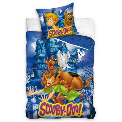 Dětské povlečení Scooby Doo Strašidelný dům, 140 x 200 cm, 70 x 80 cm