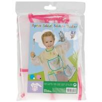 Dětská zástěra na malování Pockets, růžová