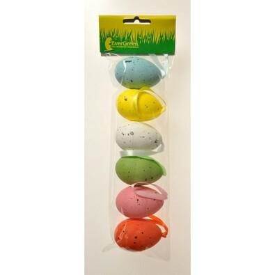 Velikonoční vajíčka kropenatá s mašlí, sada 3 balení