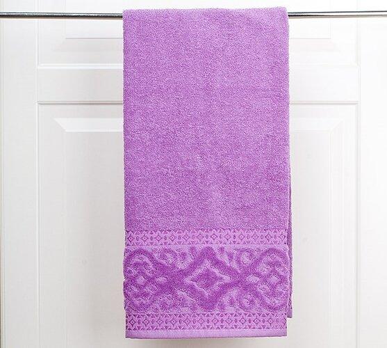 Ručník Magnolie fialová, 50 x 90 cm, sada 2 ks