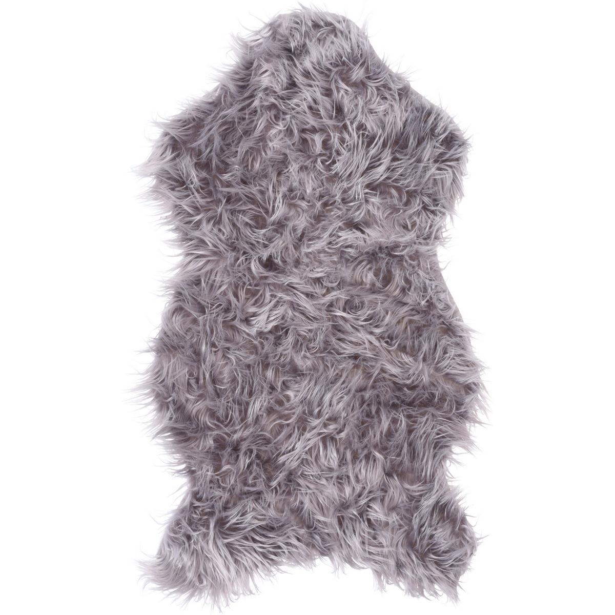 Koopman Kožušina sivá, 50 x 90 cm