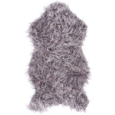 Koopman Kožešina šedá, 50 x 90 cm