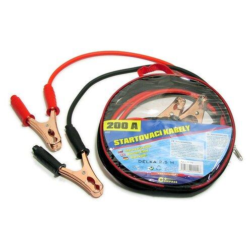 Compass Startovací kabely Zipper Bag 200 A,  2,5 m