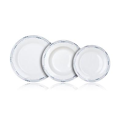 Banquet 18-częściowy zestaw jadalny Sansa