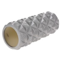 XQ Max Wałek do ćwiczeń Yoga 33 x 14,5 cm, srebrny