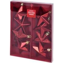Set decorațiuni de Crăciun Koopman Alcamo, roșu, 8 buc.