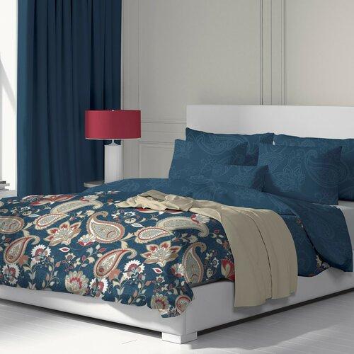 Kvalitex Bavlnené obliečky Olympia petrolejová, 220 x 200 cm, 2 ks 70 x 90 cm