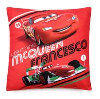 Polštářek Cars McQueen Francesco, 40 x 40 cm