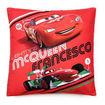 Vankúšik Cars McQueen Francesco, 40 x 40 cm