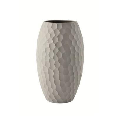 ASA Selection váza Carve 25 cm světle šedá
