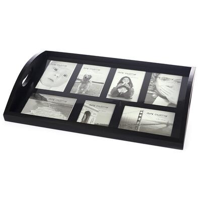 Dřevěný podnos Picture, 49 x 33 x 7 cm