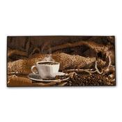 Vnitřní kuchyňská rohožka Espresso, 67 x 150 cm