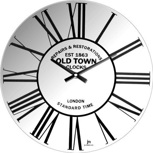 Lowell 14880 Dizajnové nástenné hodiny pr. 34 cm