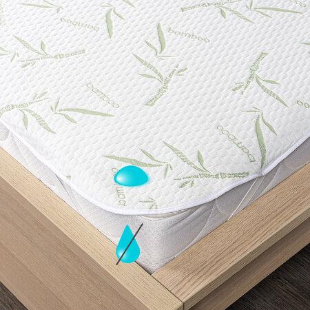 4Home Bamboo Gumifüles vízhatlan matracvédő, 200 x 200 cm