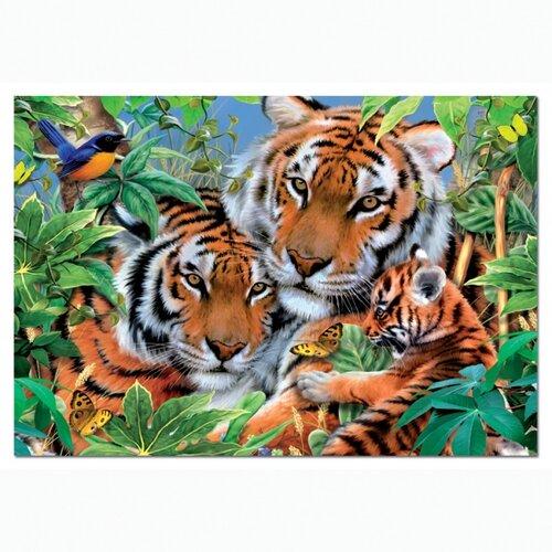 Puzzle Tigrí rodina