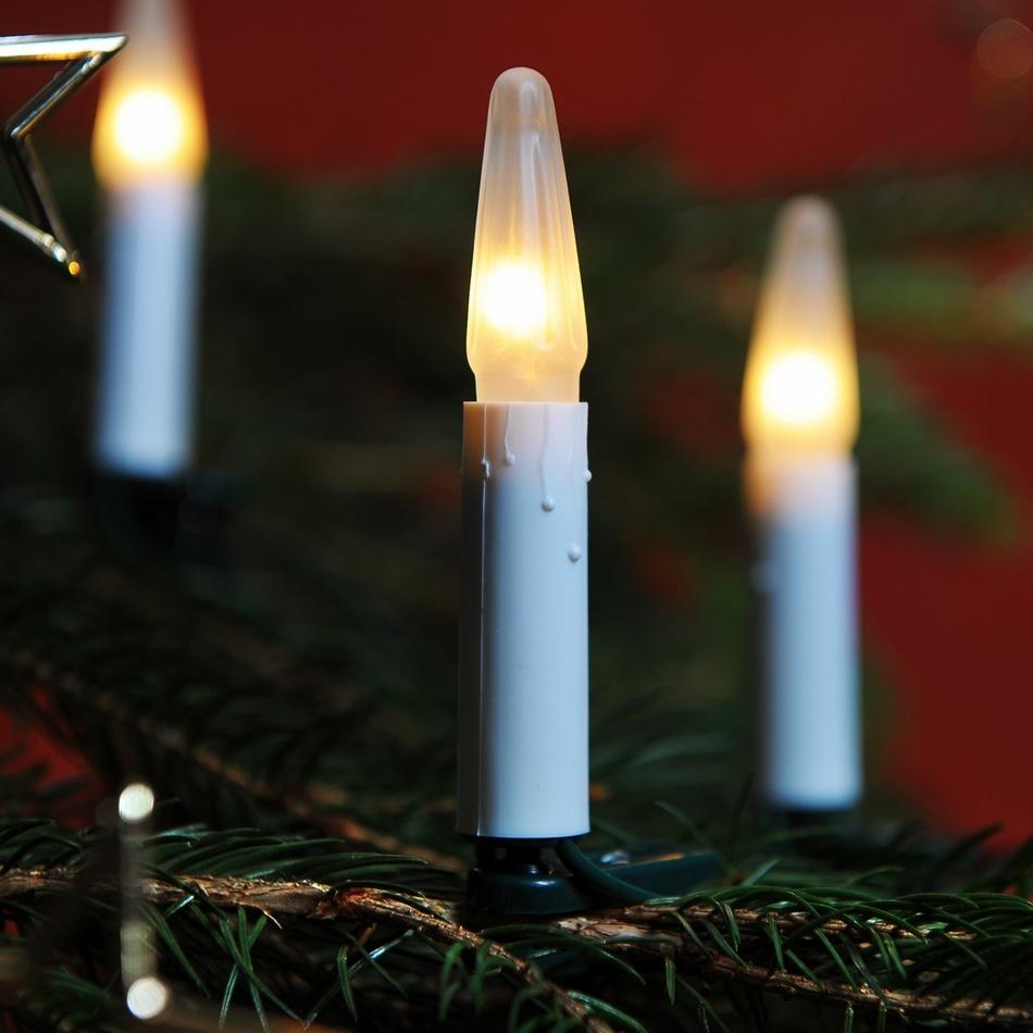 Svetelná reťaz Asteria biela, 16 žiaroviek