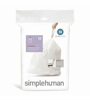 Simplehuman Sáčky do odpadkového koše N 45-50 l, 20 ks