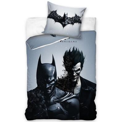 Bavlnené obliečky Batman black, 140 x 200 cm, 70 x 90 cm
