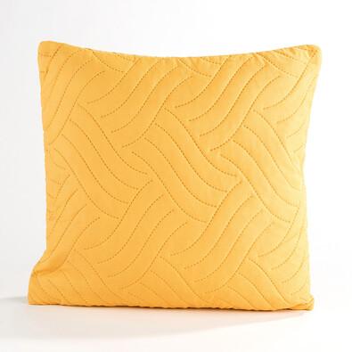 Povlak na polštářek Vigo žlutá , 40 x 40 cm