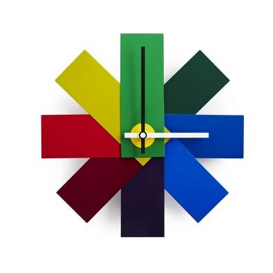 Nástěnné hodiny Watch me, barevné
