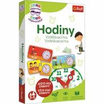 Trefl Vzdelávacia hra Malý objaviteľ Hodiny, 32 dielikov