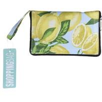 Skladacia nákupná taška Lemon, 37 x 50 cm
