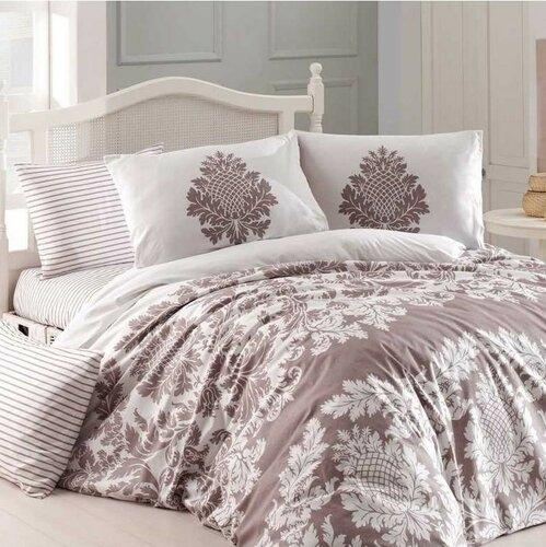 Homeville Bavlnené obliečky Purely béžová, 140 x 200 cm, 70 x 90 cm, 50 x 70 cm, 140 x 200 cm, 70 x 90 cm