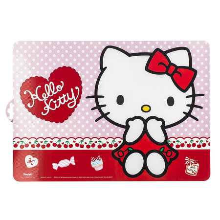 Prostírání Hello Kitty red, 43 x 29 cm