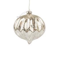 Lavello karácsonyi világító dísz, ezüst