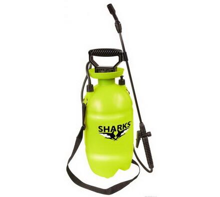 Tlakový postřikovač Sharks SH 5, zelená