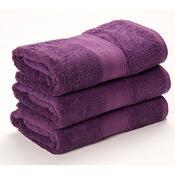 Ručník Egyptian Soft fialová, 50 x 90 cm