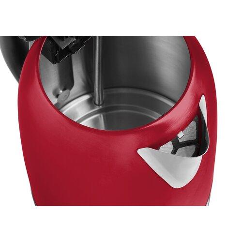 Concept RK3251 rýchlovarná kanvica nerezová 1,2 l, červená