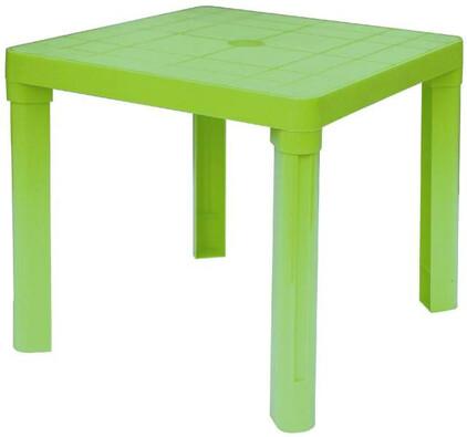 Plastový dětský stůl, zelená