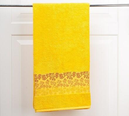 Osuška Kamelie žlutá, 70 x 140 cm