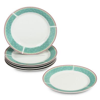 Sweet Home 6dílná sada dezertních talířů