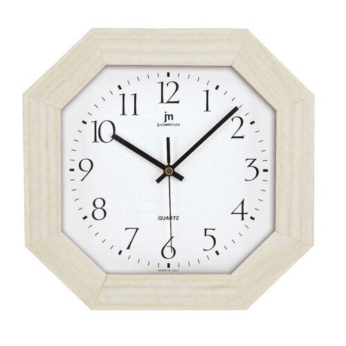 Lowell 02822R Designové nástěnné hodiny 27 x 27 cm