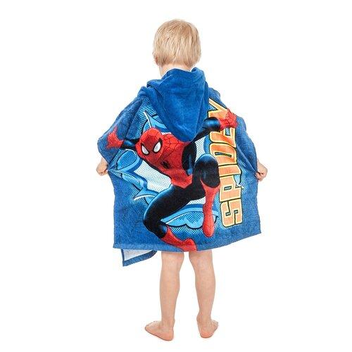 Poncho copii Spiderman, 60 x 120 cm