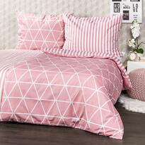 4Home Galaxy pamut ágynemű, rózsaszín