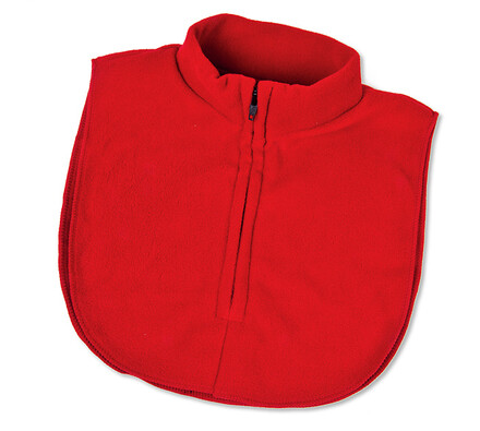 Fleecová vsadka, červená
