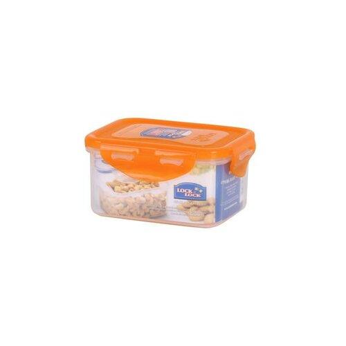 Lock & Lock Plastová dóza na potraviny 470 ml, oranžová