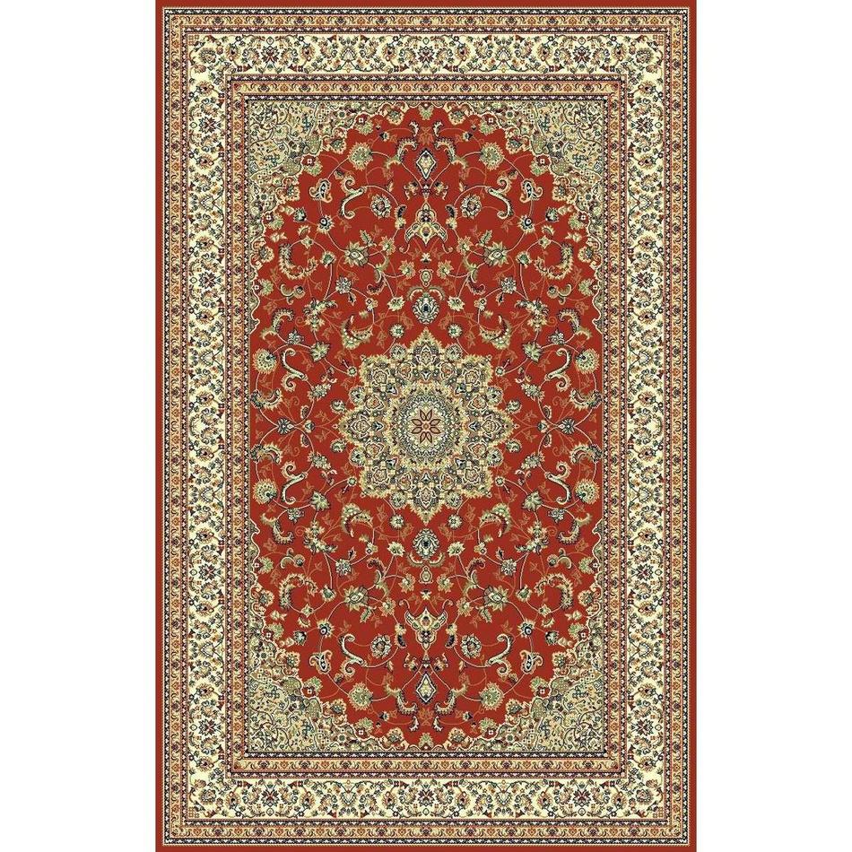 Habitat Kusový koberec Brilliant floral červená, 200 x 300 cm