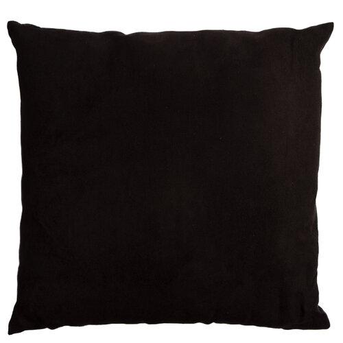 Pernă Hibiscus black, 45 x 45 cm