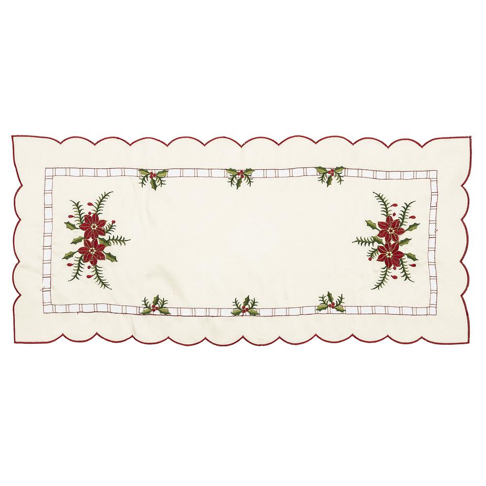 Vianočný obrusový behúň Cezmína, 37 x 86 cm