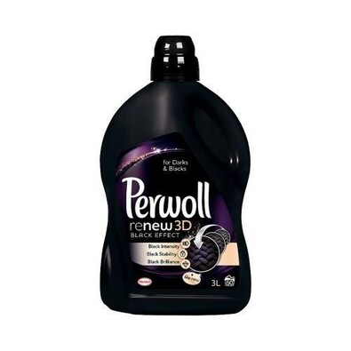 Perwoll Brilliant Black prací gel 3 l