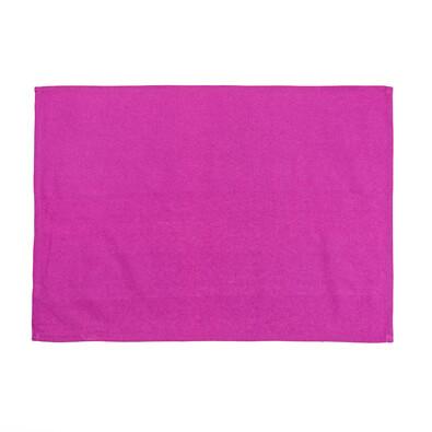 Kuchyňská utěrka režná růžová, 50 x 70 cm
