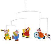 Kinet Circus Mobile 34 cm, vícebarevný