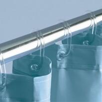 Kroužky k uchycení sprchových závěsů transparentní
