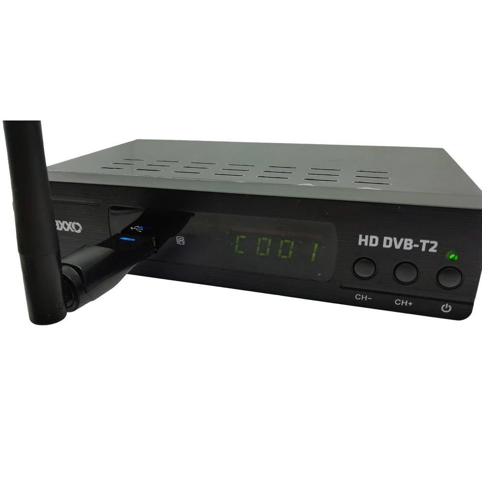 Maxxo T2 HEVCH.265 Set-top box  WIFI adapt