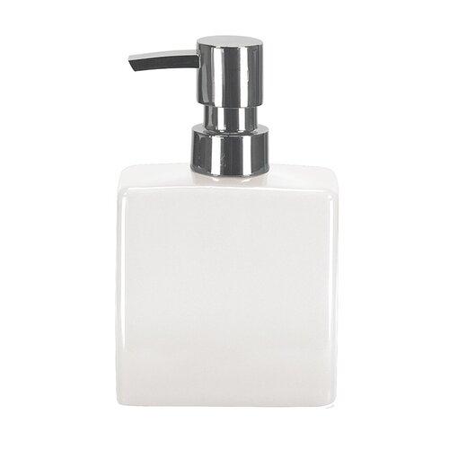 Dozownik mydła flakon biały,